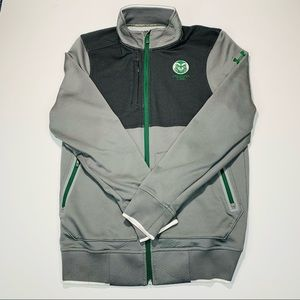 Under Armour jacket Cold Gear warmup jacket Colorado State University size XS